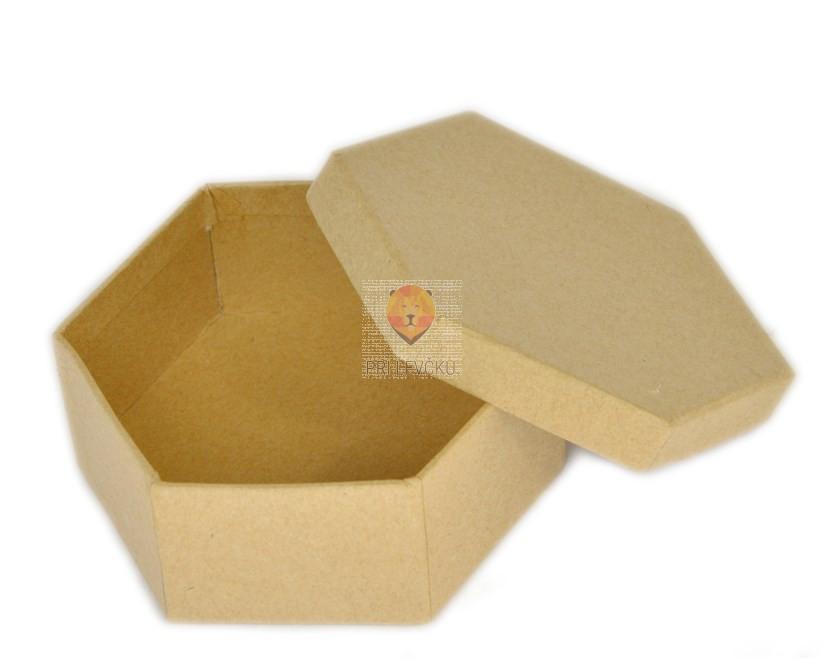 Kartonasta škatla večkotna 9cm