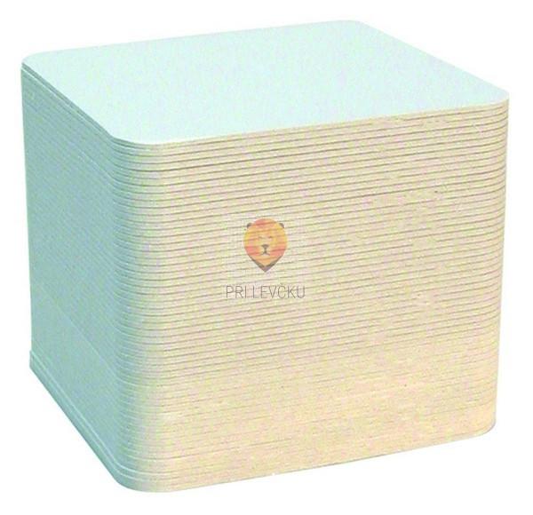 Kartonski kvadrati premera 9cm 100 kosov