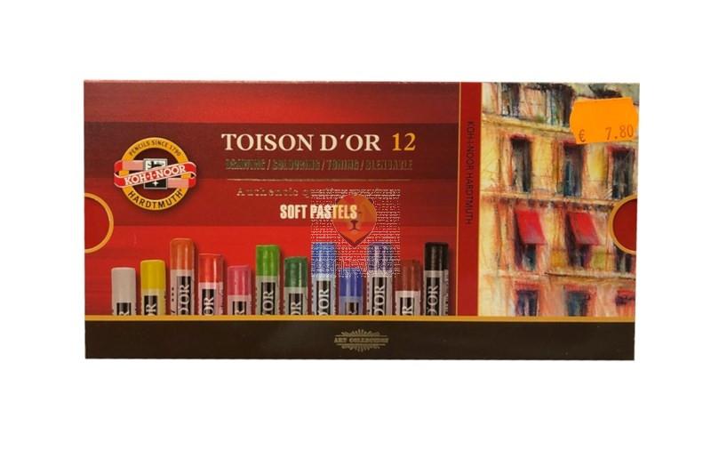 Mehki suhi pasteli Toison D'or 12/1