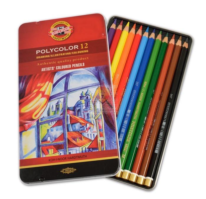Polycolor umetniške barvice 12/1 Koh-I-Noor