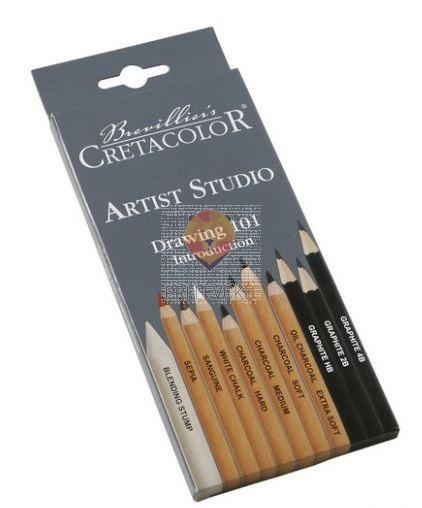 Komplet za risanje artist studio drawing 101 11-delni
