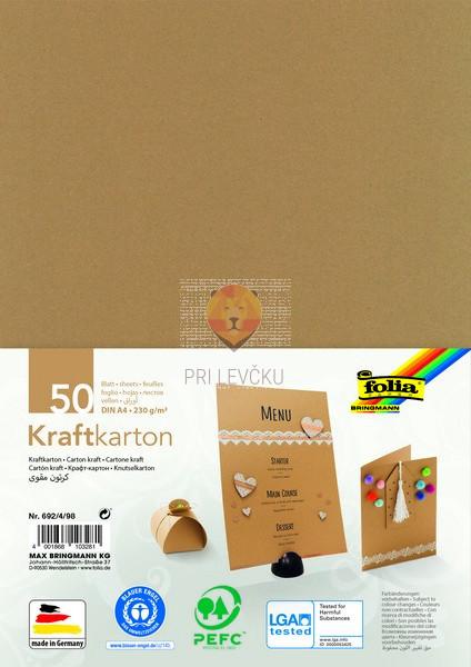 Kraft karton 230g