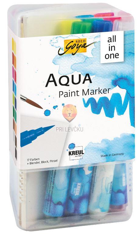 Akvarelni flomastri Aqua Paint Marker Solo Goya Powerpack