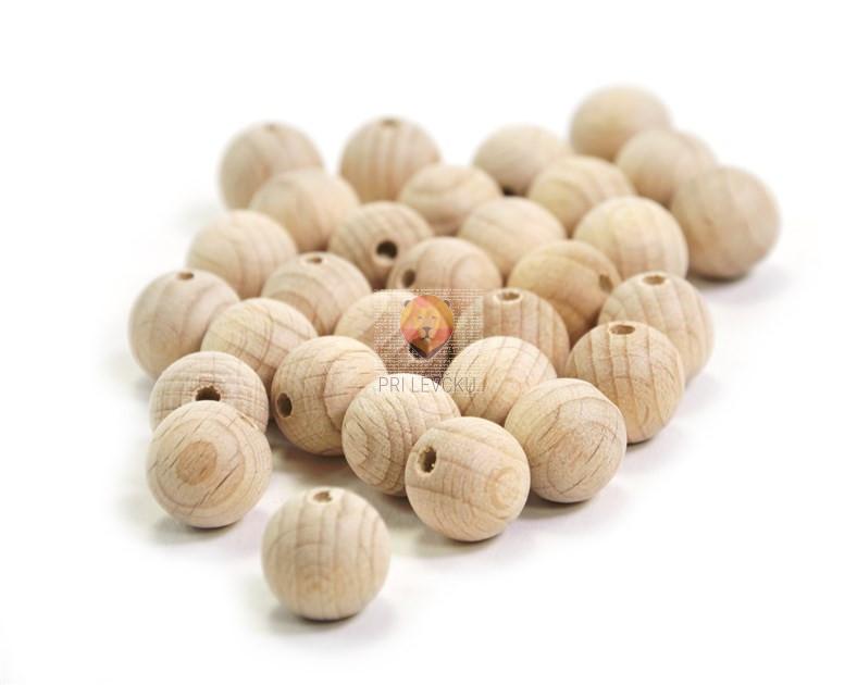 Lesene krogle 12mm 30 kosov