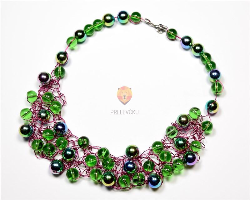 Delavnica: Kvačkana ogrlica 28. 3.
