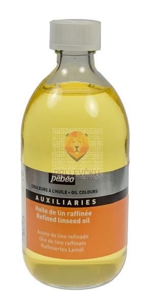 Rafinirano laneno za oljne barve, 495 ml