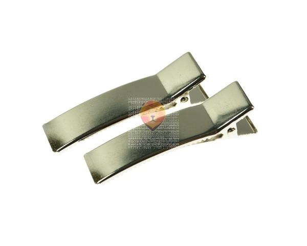Lasna sponka platinasta 9 x 48 mm, 4 kos