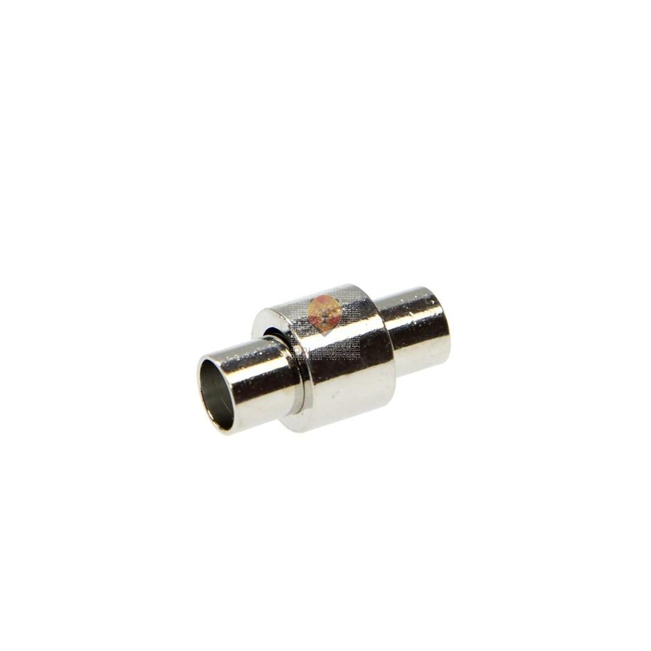 Magnetni zaključek 21 x 11 mm, platinaste barve, 1 kos