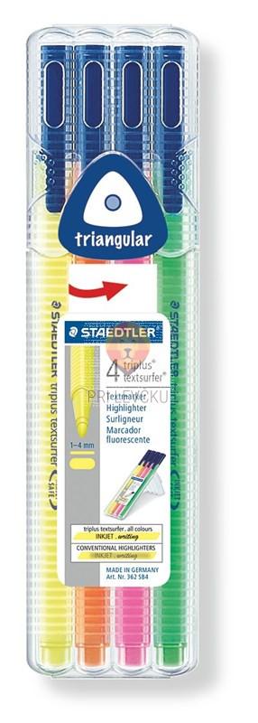 4 označevalci teksta markerji 2mm Textsurfer Staedtler