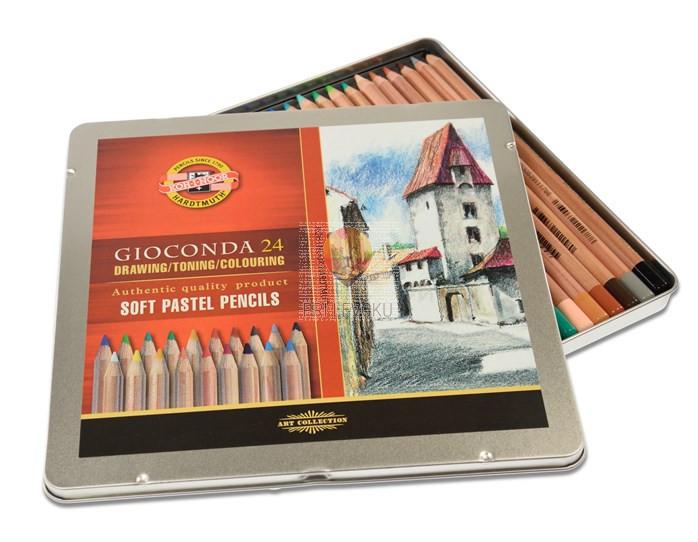 Suhi pasteli v svinčniku Gioconda 24/1 Koh-I-Noor
