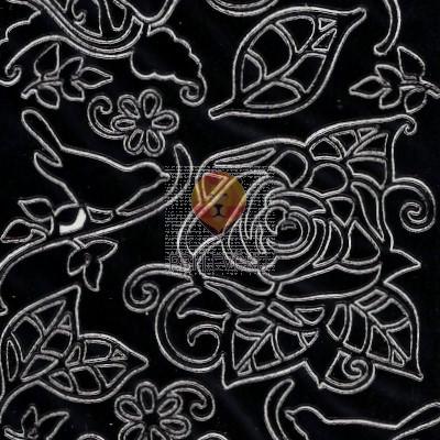Nalepke CVETLIČNI MOTIVI črne barve