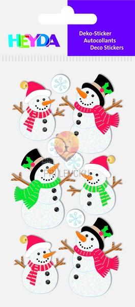 """Nalepke za dekoracijo """"Snežaki"""""""