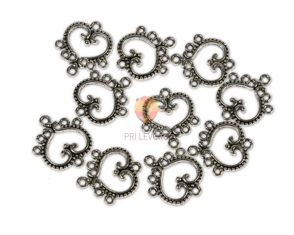 Obešanke za uhane in ogrlice, 10 kos