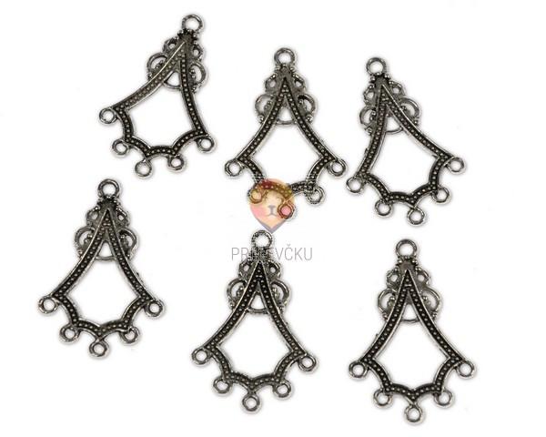 Obešanke za uhane in ogrlice, 6 kos