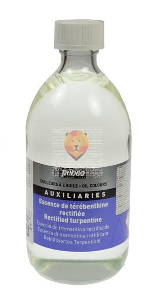 Prečiščeni terpentin za oljne barve, 495 ml