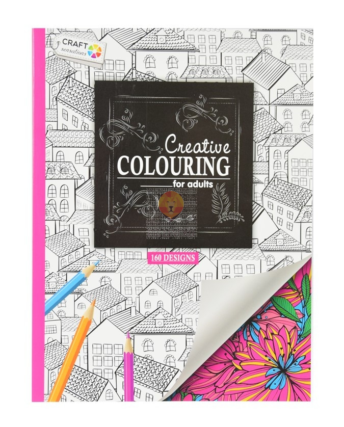 Pobarvanka Creative Colouring roza 160 motivov