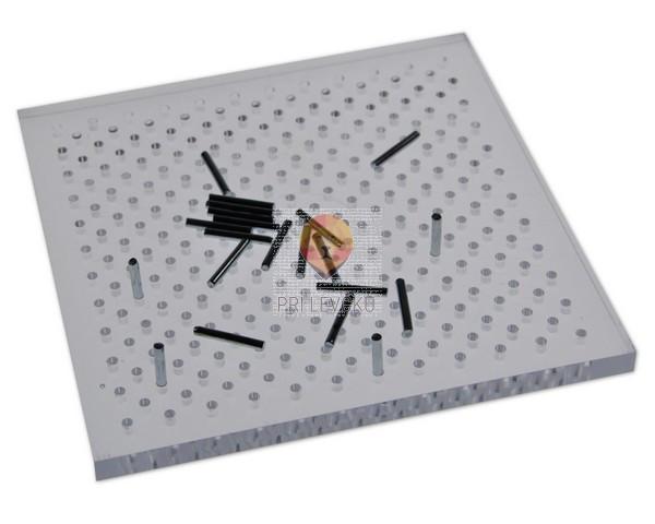 Pin Board - pripomoček za oblikovanje žice, 11 cm x 11 cm