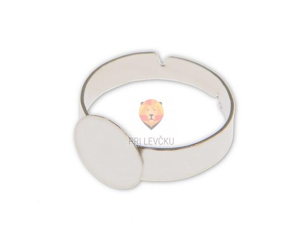 Prstan s ploščico 10 mm, 1 kos