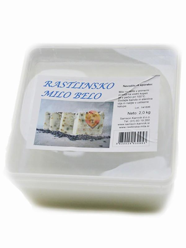 Rastlinsko belo milo 2 kg