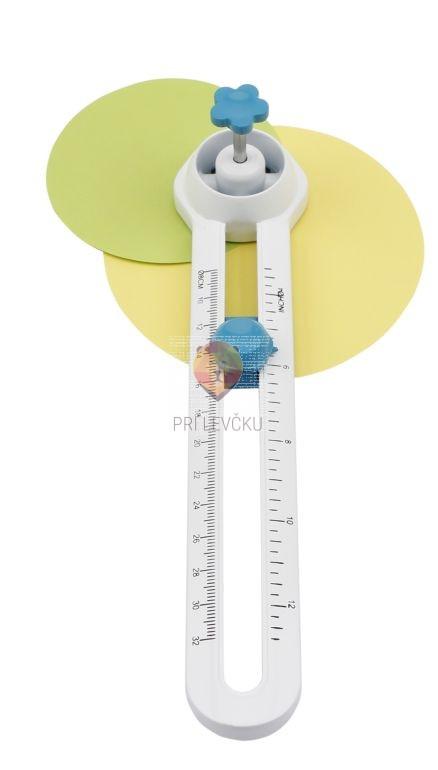 Rezalnik krogov iz papirja premera 8-32cm Olympia