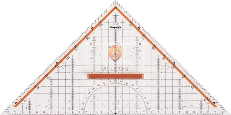 Geotrikotnik veliki Rotring centro - 32cm