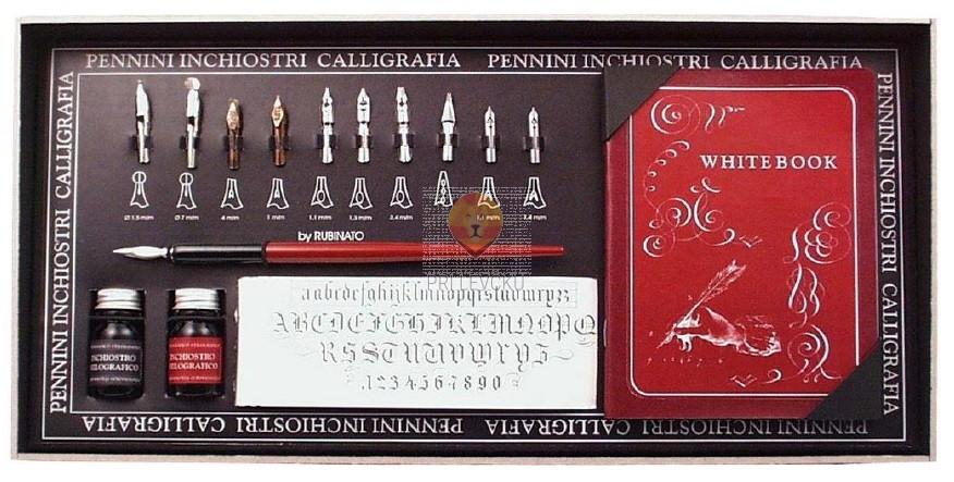 Kaligrafski set Francesco Rubinato 16 delni