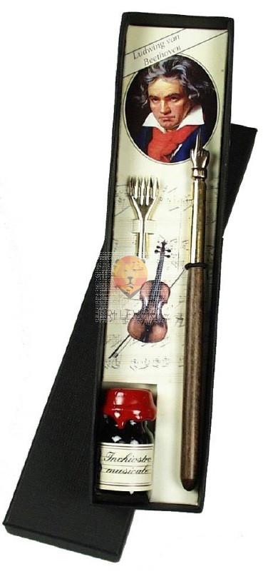 Kaligrafski set Francesco Rubinato Beethoven 4 delni