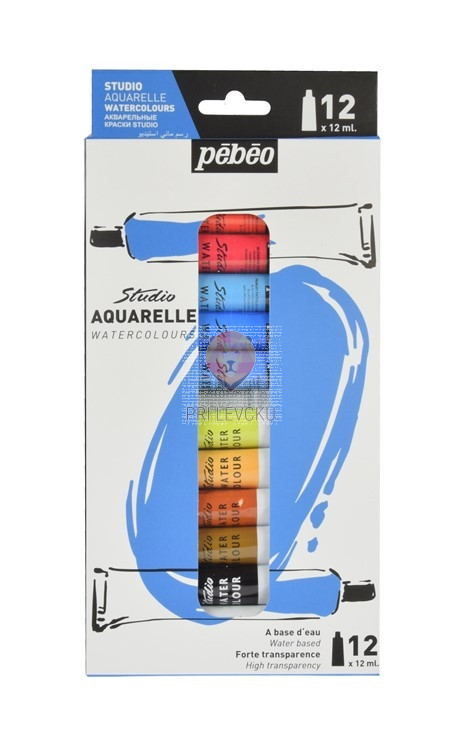 Set akvarelnih barv v tubah 12x12ml