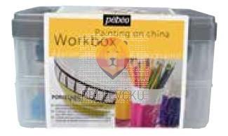Workbox kovček barv PORCELAINE150 10x45ml + pripomočki