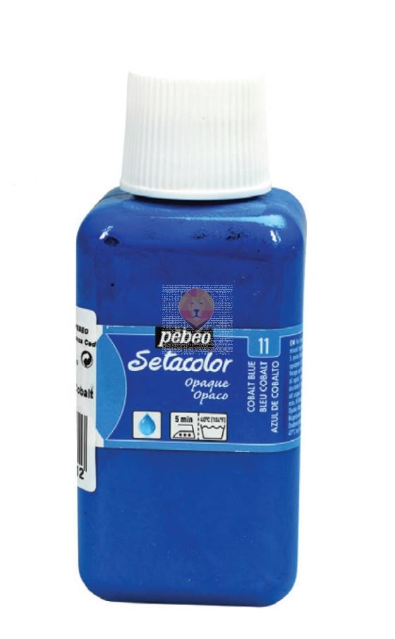 Prekrivna barva za tekstil Setacolor Opaque, 250 ml