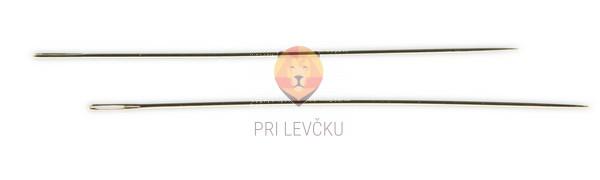 Igle za perle 0,45 x 40 mm, 2 kos