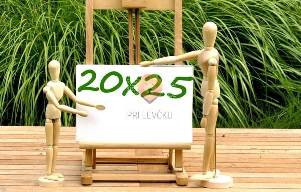 Platno slikarsko 20x25cm 380g/m2 1 kos