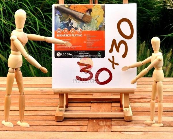 Platno slikarsko 30x30cm 300g/m2 1 kos