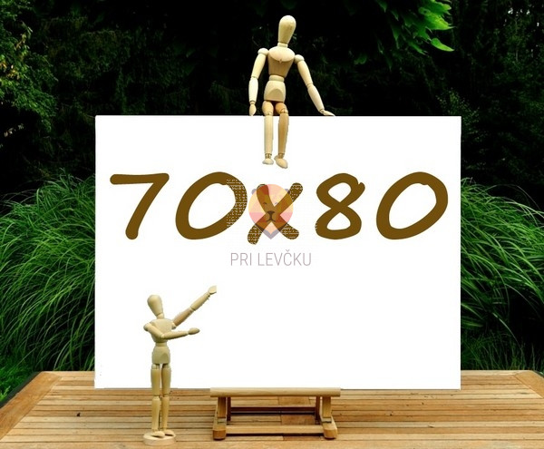 Platno slikarsko 70x80cm 380g/m2 1 kos