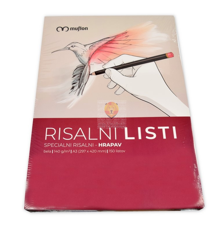 Risalni list A3 150 listov