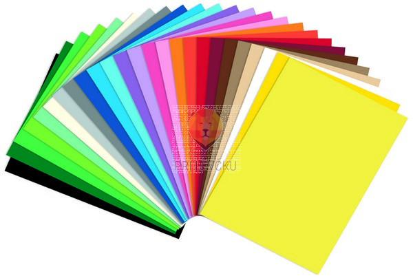 Barvni karton 220 g/m2 70x100cm 1 kos