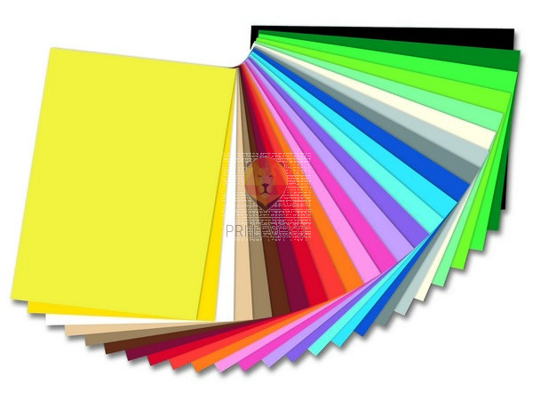 Barvni karton tonkarton format A4 220g/m2 1 kos