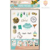 """Kartonasti izrezki Paper-patches """"Nobles,"""" 83-delni"""