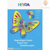 Mavrični papir 23x33 cm 10 listov