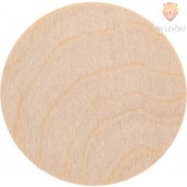 Leseni krogi 4x8 mm 5 kos