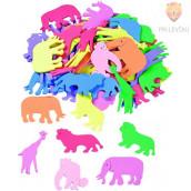 Moos gumi izrezane oblike Živali 60 kosov