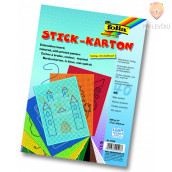 Barvni karton za vezenje - 40 kos