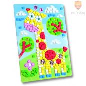 Moos gumi mozaik - Žirafa
