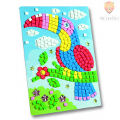 Moos gumi mozaik Kakadu