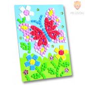 Moos gumi mozaik - Metulj