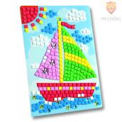 Moos gumi mozaik - Ladjica