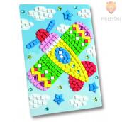 Moos gumi mozaik - Letalo