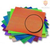 Origami papir svetleč - vzorec tkanine 14cm x 14cm