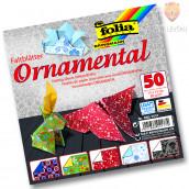 Origami papir Ornamental - 15 cm x 15 cm