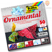Origami papir Ornamental - 10 cm x 10 cm